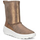 ECCO Ukiuk Shoes Juniors Warm Grey/Camel